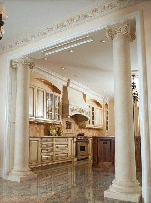 marble columns design